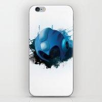 mega man iPhone & iPod Skins featuring Mega Man by Head Glitch