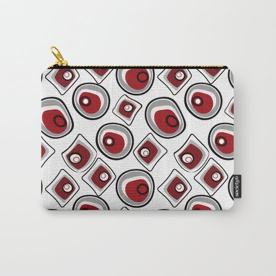 "Abstraction. ""Pebbles "" on a white background . Carry-All Pouch"