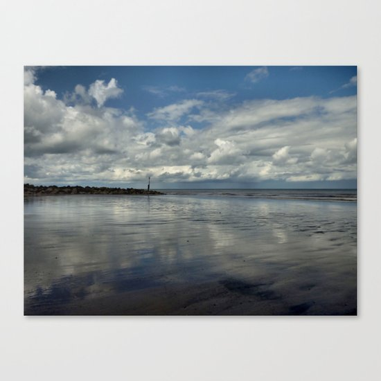 Mappleton Coast Canvas Print