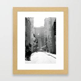 San Fransisco Framed Art Print
