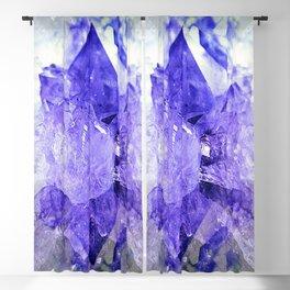 Amethyst Crystal Fantasy Blackout Curtain