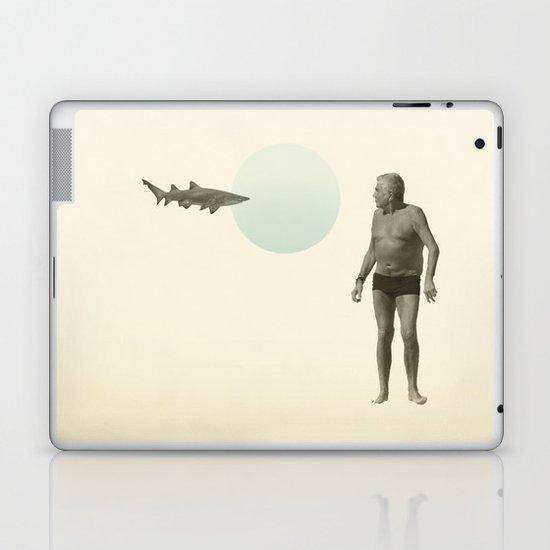 shark bate Laptop & iPad Skin