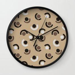 Silent nature // pattern - 2 Wall Clock