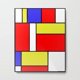 Mondrian #57 Metal Print