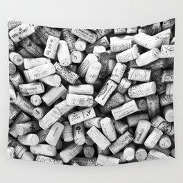 Something Nostalgic II Twist-off Wine Corks in Black And White #decor #society6 #buyart Wall Tapestry