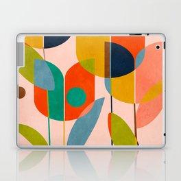 floral shapes III Laptop & iPad Skin