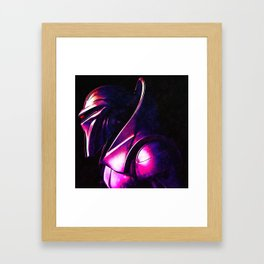 """""""Some Kinda' Crazy, Frakked Up Cylon Signal..."""" Framed Art Print"""