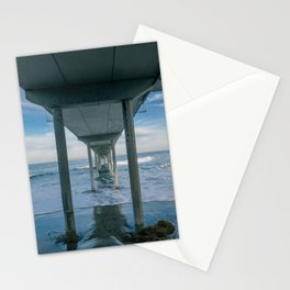 Ocean Beach Municipal Pier Stationery Cards