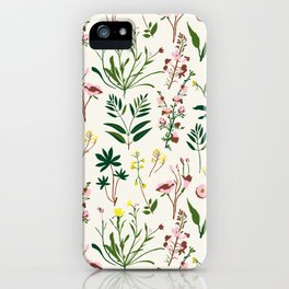 WILDFLOWER STUDY iPhone Case