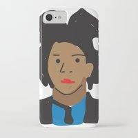 basquiat iPhone & iPod Cases featuring Basquiat by John Sailor