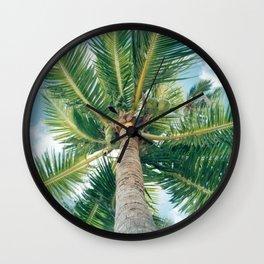 Tahitian Paradise Wall Clock
