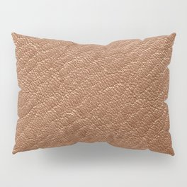 Leather Texture (Tan) Pillow Sham