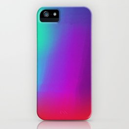 Color Exploration 001 iPhone Case