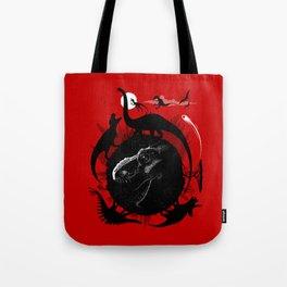 Dinos Circle Tote Bag