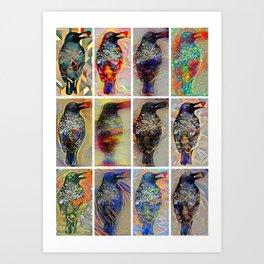Peeper Art Print