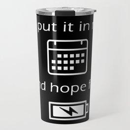 Hope For Energy Travel Mug
