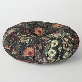 Vintage Garden IV Floor Pillow