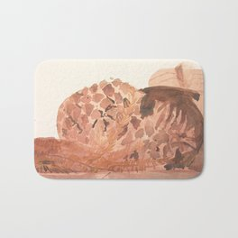 Still Life in Ochre Bath Mat
