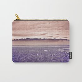 Frozen Mirror Lake Carry-All Pouch