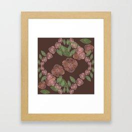 INNER FLORAL Framed Art Print