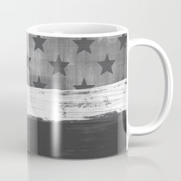 American Flag Distress Grunge Stars and Stripes Coffee Mug