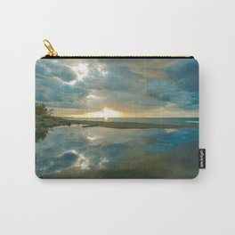 Brilliant Sunset on Lake Superior II Carry-All Pouch