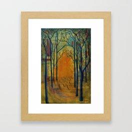 Light in the Wilderness  Framed Art Print