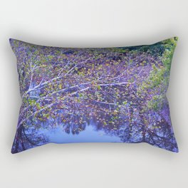 Color over the Water Rectangular Pillow