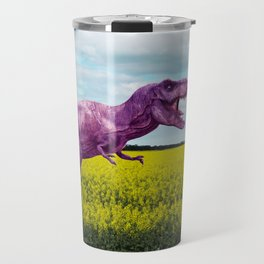 Pink in the fields Travel Mug