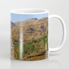 Glenfinnan Autumn Colors in Scotland Coffee Mug