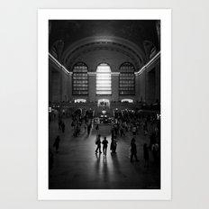 Grand Central. Art Print