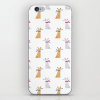 best friend iPhone & iPod Skins featuring Best Friend by Juliana Motzko