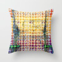 martell Throw Pillows featuring Highly Acidic by G Martell