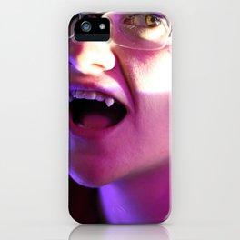 The Vampiric Saturnine Gaze of Thirst iPhone Case