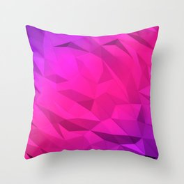 I Love Low Poly 2 Throw Pillow