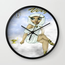 Virgo colab Wall Clock