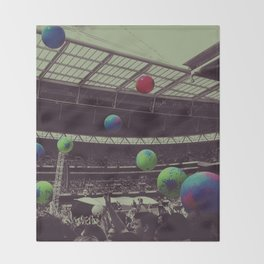Coldplay at Wembley Throw Blanket