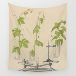 Antique Botany Wall Tapestry