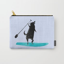 Wolf Paddle Wild - Paddleboarding on the Ocean Carry-All Pouch