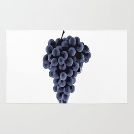 Black Grapes Rug