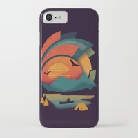 explore iPhone & iPod Cases featuring Explore by The Child