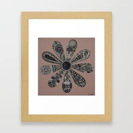 Blooming Flower  Framed Art Print