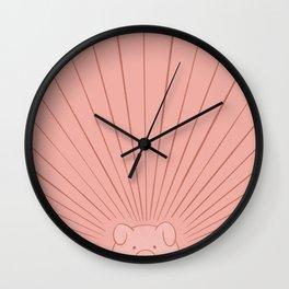 Good Morning Son - Piggy Wall Clock
