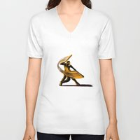 baseball V-neck T-shirts featuring Baseball by Enzo Lo Re