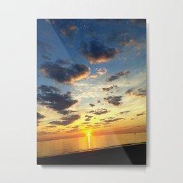 Acidic Sunrise - DreamScapes Collection Metal Print