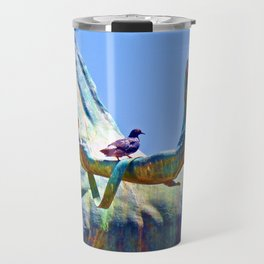 Art by Birdies Travel Mug