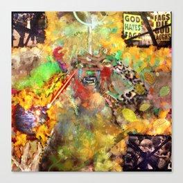re·mon·strance Canvas Print