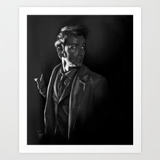 Stepping Out - Doctor Who Art Print