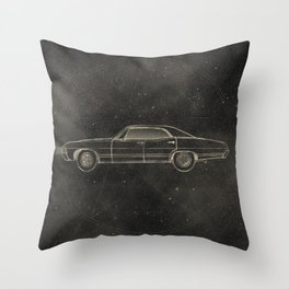 Supernatural: Impala Throw Pillow