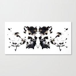 Rorschach No.1 Canvas Print